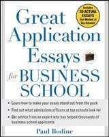 Great Application Essays for Business School