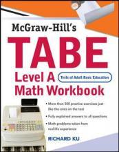 TABE Math Workbook: Test of Adult Basic Education Level A