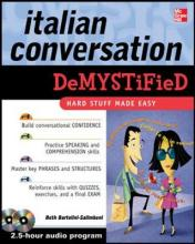 Italian Conversation DeMYSTiFied: Set 3