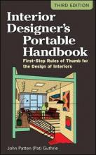 Interior Designers Portable Handbook: First-Step Rules of Thumb for the Design of Interiors