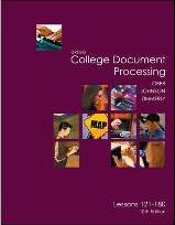 Gregg College Keyboarding & Document Processing (Gdp), Lessons 121-180 Text