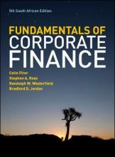 The Fundamentals of Corporate Finance - South African Edition
