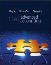 Advanced Accounting with Connect Plus