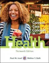 Core Concepts in Health, Brief with Connect Access Card: With Learnsmart Personal Health Part 1