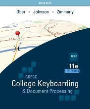 Ober: Kit 2: (Lessons 61-120) W/ Word 2013 Manual