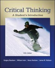 Critical Thinking: A Student's Introduction