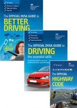 The Official DVSA Guide to Better Driving; The Official DVSA Guide to Driving - The Essential Skills; and the Official Highway Code 2015