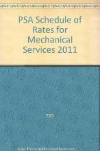 PSA Schedule of Rates for Mechanical Services 2011