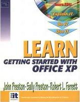 Learn Microsoft Office XP-Getting Started