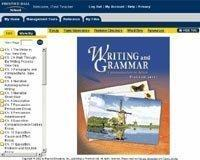 Writing &Grammar 1 Edition I-Text CD-ROM Grade 10 2001c