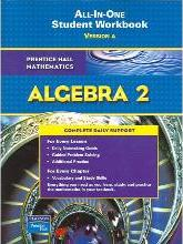 Algebra 2 All-In-One Student Workbook, Version A
