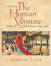The Human Venture: Since 1500 v. 2