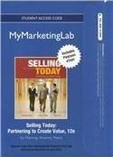 NEW MyLab Marketing with Pearson eText -- Access Card -- for Selling Today