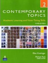 Contemporary Topics 2: Academic Listening and Note-Taking Skills (High Intermediate)