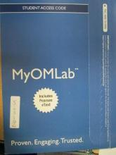 NEW MyOMLab with Pearson eText -- Access Card -- for Operations Management, Flexible Version