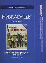 New MyBradyLab Without Pearson eText - Access Card - For Prehospital Emergency Care