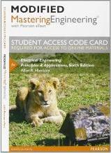 New MasteringEngineering with Pearson Etext -- Access Card -- for Electrical Engineering