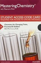 Masteringchemistry with Pearson Etext -- Standalone Access Card -- For Chemistry for Changing Times