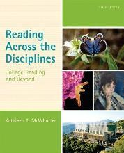 Reading Across the Disciplines with MyReadingLab Access Code