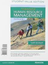 Fundamentals of Human Resource Management, Student Value Edition Plus Mylab Management with Pearson Etext -- Access Card Package