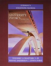 Student's Solution Manual for University Physics with Modern Physics: Volume 1 (chs. 1-20)