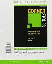 Cornerstones for Community College Success, Student Value Edition Plus New Mylab Student Success with Pearson Etext -- Access Card Package