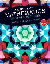 A Survey of Mathematics with Applications Plus Mylab Math Student Access Card -- Access Code Card Package