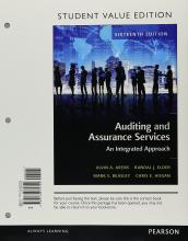 Auditing and Assurance Services, Student Value Edition Plus Myaccountinglab with Pearson Etext -- Access Card Package