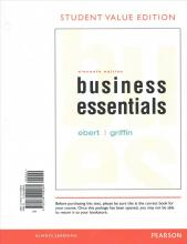 Business Esentials, Student Value Edition Plus 2017 Mybizlab with Pearson Etext -- Access Card Package