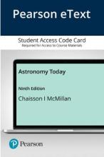 Pearson eText Astronomy Today -- Access Card
