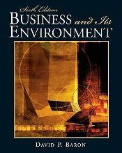 Business and Its Environment