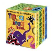 Tinga Tinga Tales: From Sunrise to Sunset in Tinga Tinga: Little Library