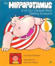 My Hippopotamus is on Our Caravan Roof Getting Sunburnt