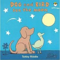 Dog and Bird See the Moon