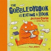 Gobbledygook Is Eating A Book