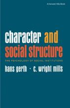 Character and Social Structure