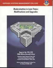 Modernization in Lean Times: Modifications and Upgrades (July 1995