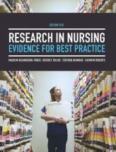 Research in Nursing : Evidence for Best Practice