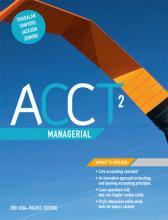 Acct2 Managerial with Student Resource Access for 12 Months