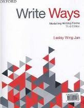 Literacy 4E / Write Ways 3E / Primary Grammar Handbook 3E