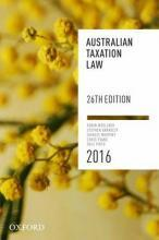Australian Taxation Law 2016