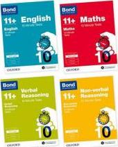 Bond 11+: English, Maths, Non-verbal Reasoning, Verbal Reasoning: 10 Minute Tests