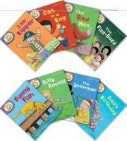 Oxford Reading Tree Read With Biff, Chip, and Kipper: Level 2: Pack of 8