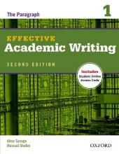 Effective Academic Writing Second Edition: 1: Student Book