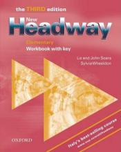 New Headway: Workbook with Key Elementary level