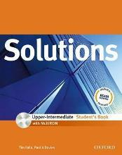 Solutions Upper-Intermediate: Student's Book with MultiROM Pack