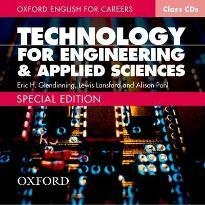 Oxford English for Careers Technology for Engineering and Applied Sciences: Class Audio CD