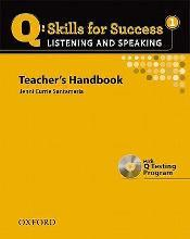 Q Skills for Success: Listening and Speaking 1: Teacher's Book with Testing Program CD-ROM