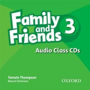 Family and Friends 3: Class Audio CDs