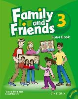 Family and Friends: 3: Class Book and MultiROM Pack